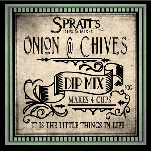 Onion & Chives Dip Mix
