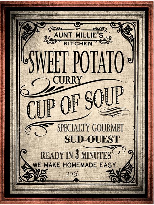 Sweet Potato, Carrot & Curry