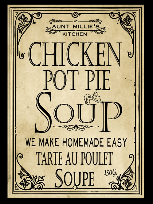 6 cups Chicken Pot Pie