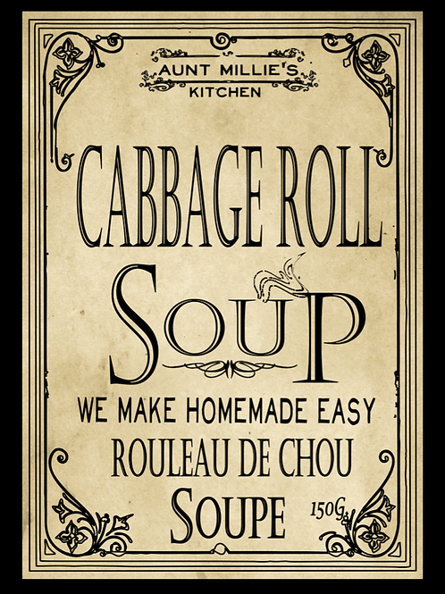 6 cups Cabbage Roll Soup