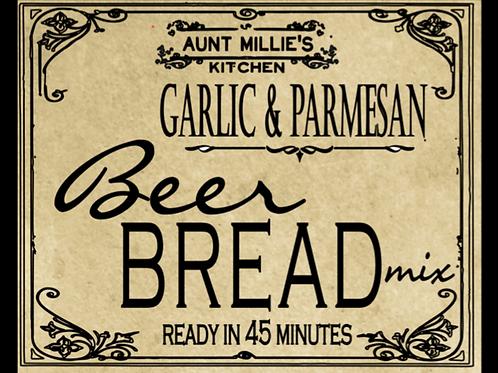 Garlic ParmesanBeer Bread