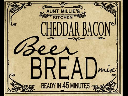 Cheddar Bacon Beer Bread