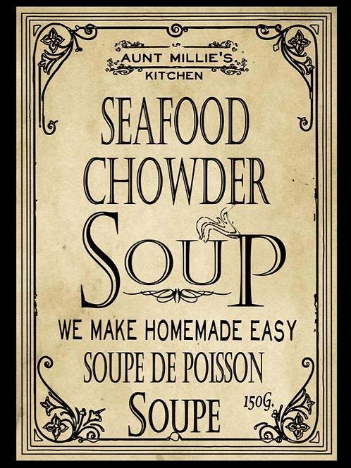 6 cups Seafood Chowder