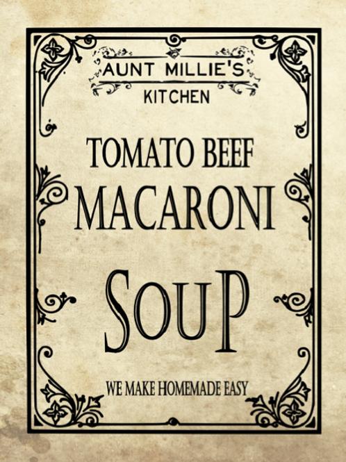 Tomato Beef Macaroni