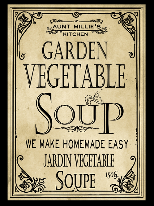 6 cups  Garden Vegetable