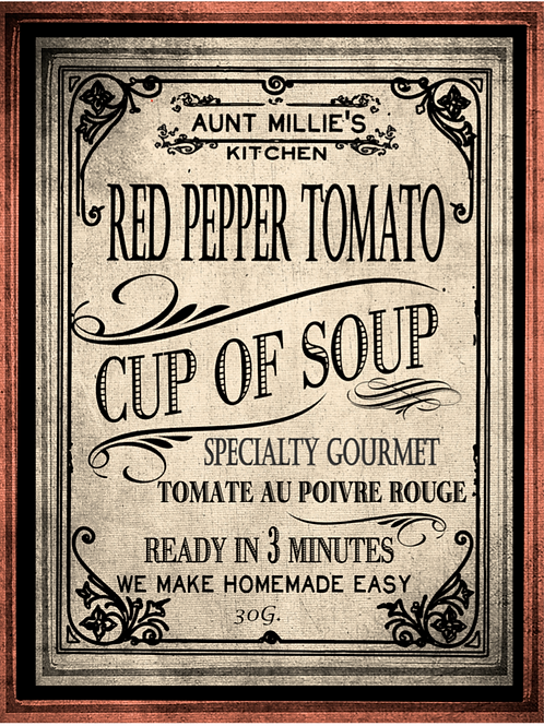 Red Pepper & Tomato Cup