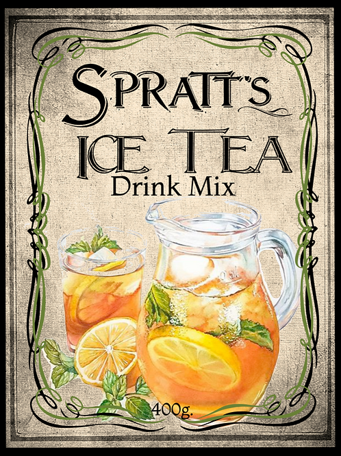Ice Tea Drink Mix
