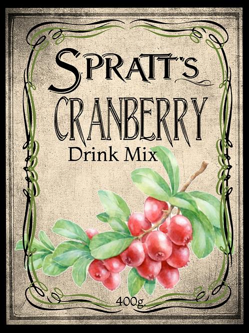 Cranberry Drink Mix