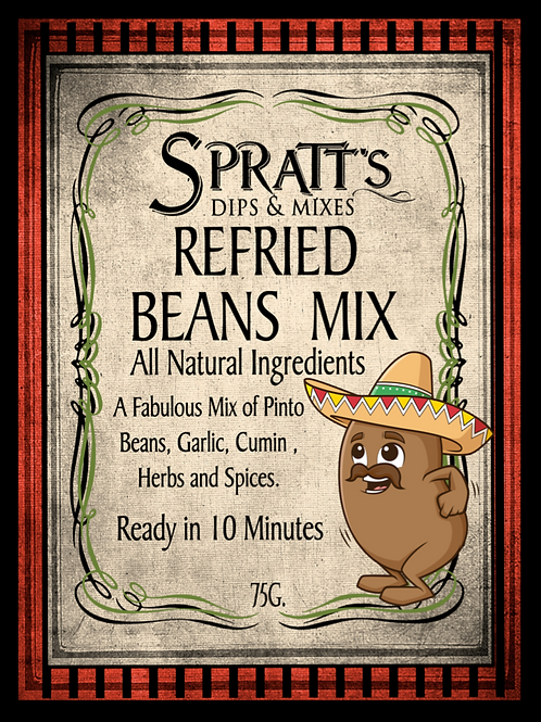 Refried Beans Mix
