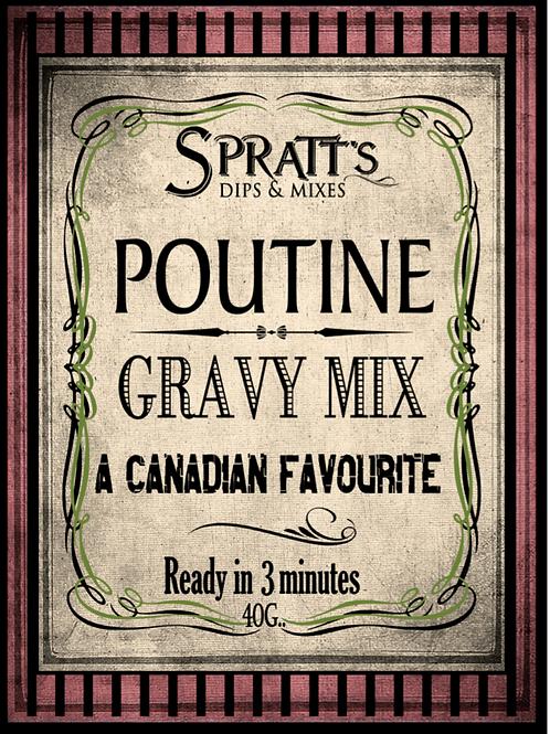 Poutine Gravy Mix