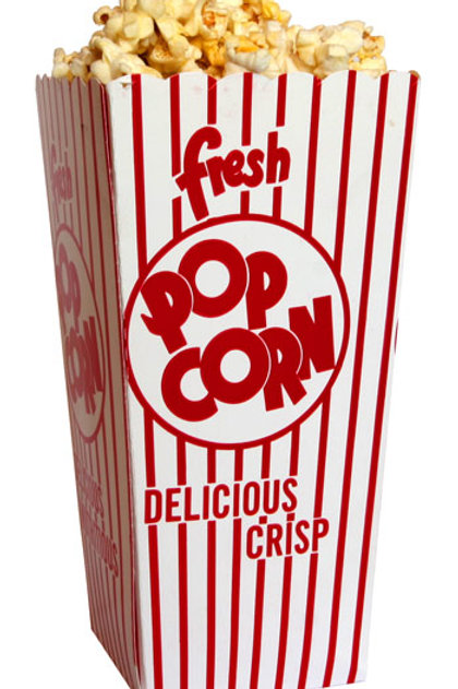 10 Pack Popcorn Boxes