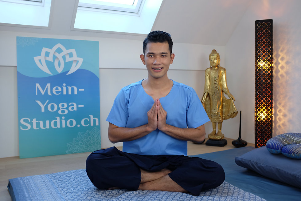 Thai Masseur Fuss Massage