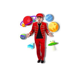 Kinder-Zaubershow Kindergärten Schulen
