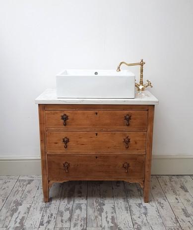 Revived into Vanity sink unit