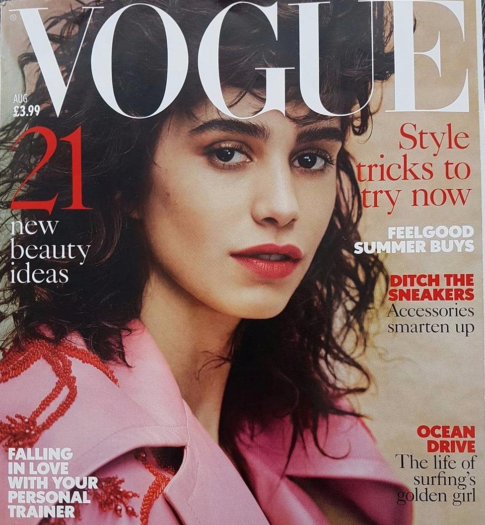 Vogue Aug 2017