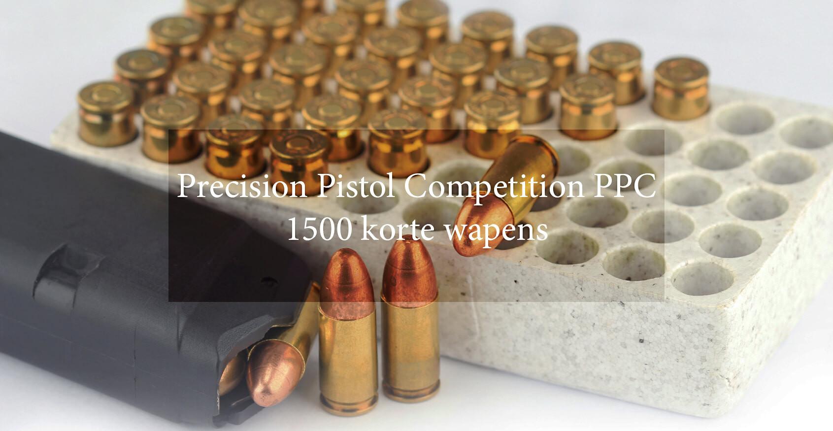 Precision Pistol Competition PPC 1500 Ko