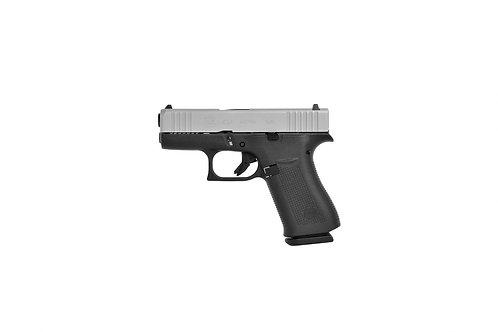 Glock 43 X Silver Slide