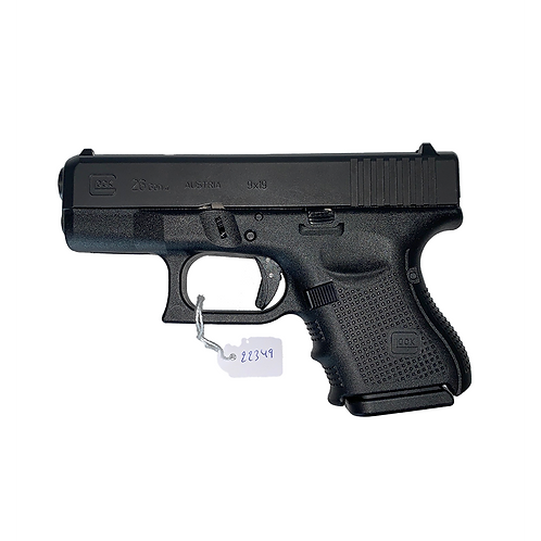 Glock 26 Gen 4 Pistool 9x19 mm