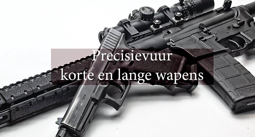 Precisievuur korte en lange wapens