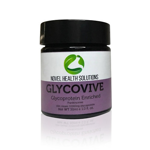 GLYCOVIVE SKIN CREAM 12000NG GLYCOPROTEIN W FRANKINCENSE 30ML