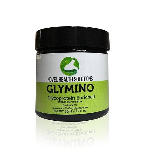 GLYMINO SKIN CREAM 6500NG W/ FRANKINCENSE & PEPTIDE BIOREGULATORS 50 ML