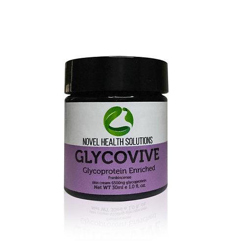 GLYCOVIVE SKIN CREAM 6500NG GLYCOPROTEIN W/ FRANKINCENSE 30ML