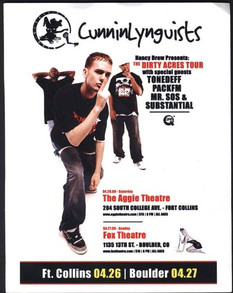 CunninLynguists Tour 2008