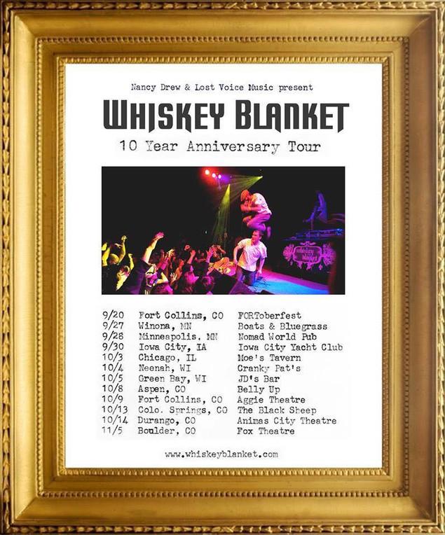 Whiskey Blanket Tour 2014