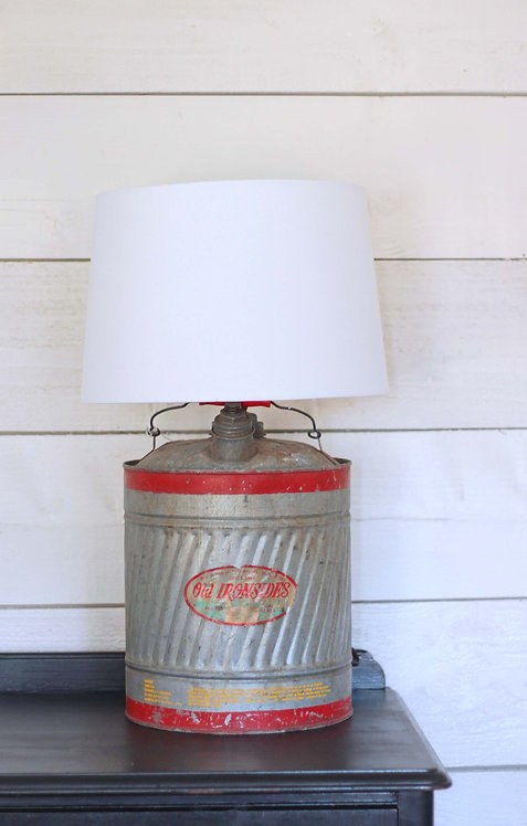 Vintage Gas Can Lamp