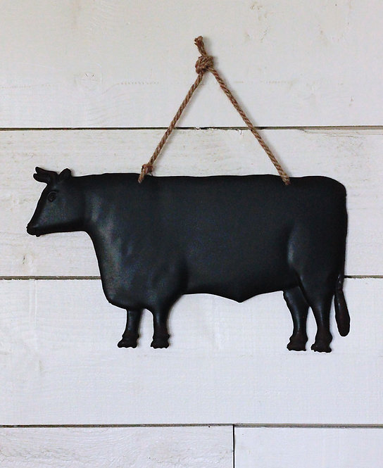 Decorative Metal Cow