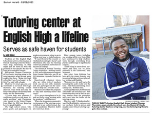 Tutoring Center at English High a Lifeline