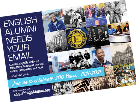 English Alumni Needs Your Email - EHSA Reaches Out to Alumni from Coast to Coast