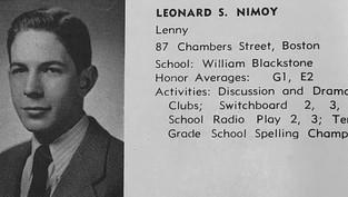 English High Joins Mayor Walsh's Celebration of English's Alumnus,      Leonard Nimoy '48, Day