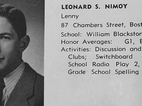 English High Joins Mayor Walsh's Celebration of English's Alumnus,      Leonard Nimoy '48, Day