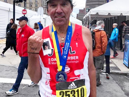 George O'Malley '67 Runs for a Cause