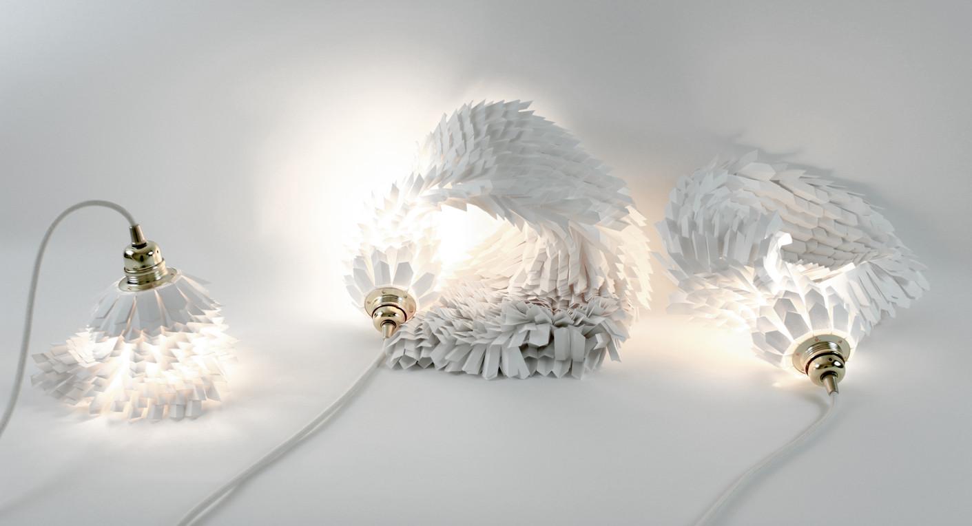Lampes papier design