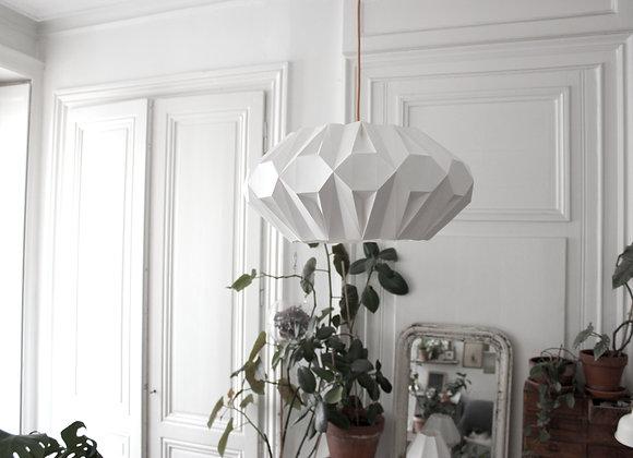lampe papier origami Suspension aki symétrique