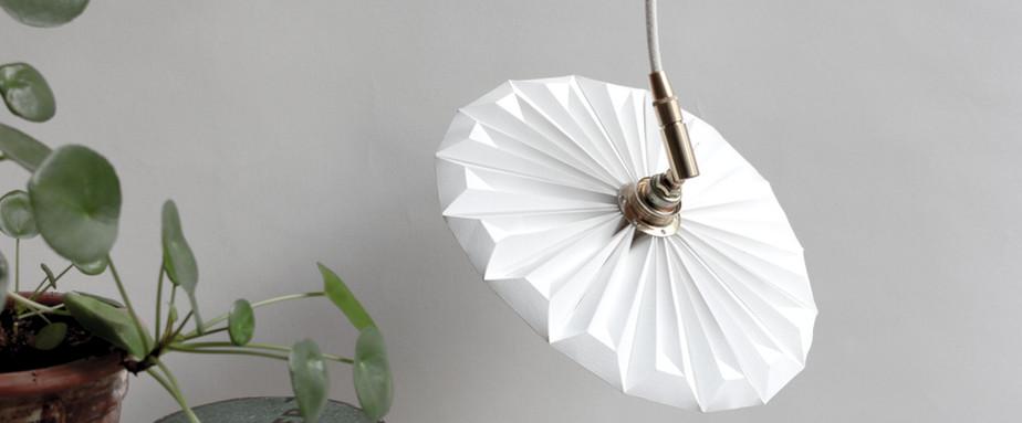 Lampe papier Suspension Piléa