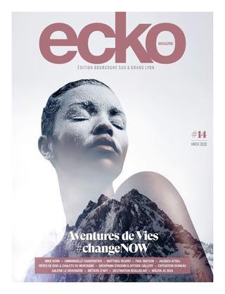 parution ecko magazine Anne-Charlotte Saliba