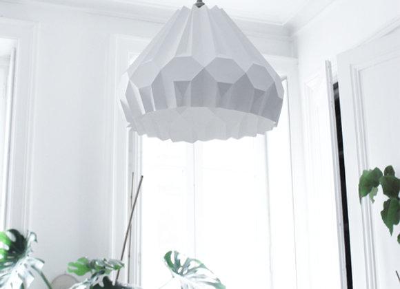 lampe papier origami Suspension aki asymétrique