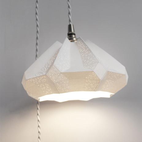 Lampe papier Baladeuse Gisèle