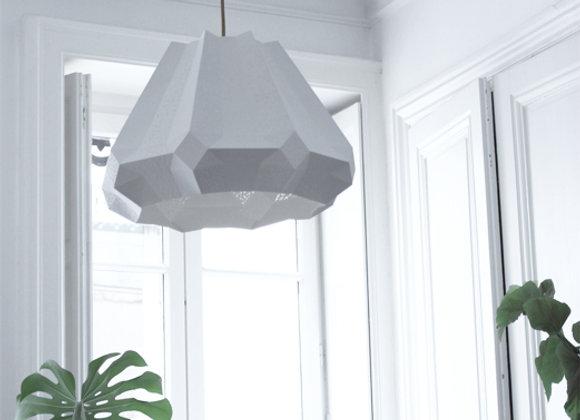 lampe papier origami Suspension origamique asymètrique