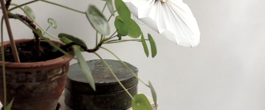 Lampe papier Baladeuse Piléa