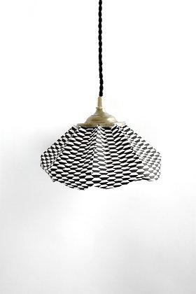 Lampe papier Baladeuse à motifs