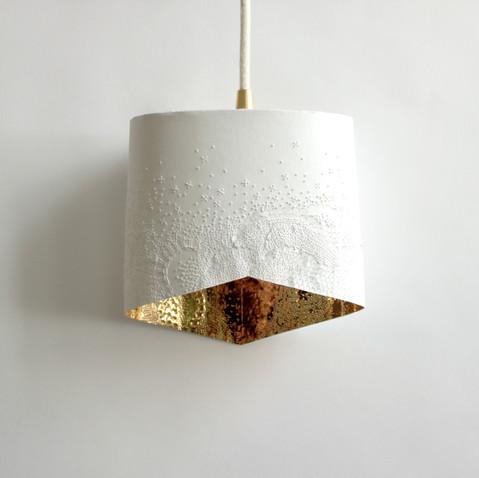 lampe papier baladeuse écaillée