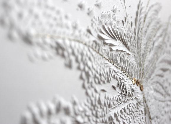 bas relief de papier papier sculpté anne charlotte saliba