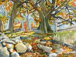 Autumn, Burrard Inlet