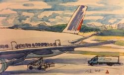 Departure for Paris