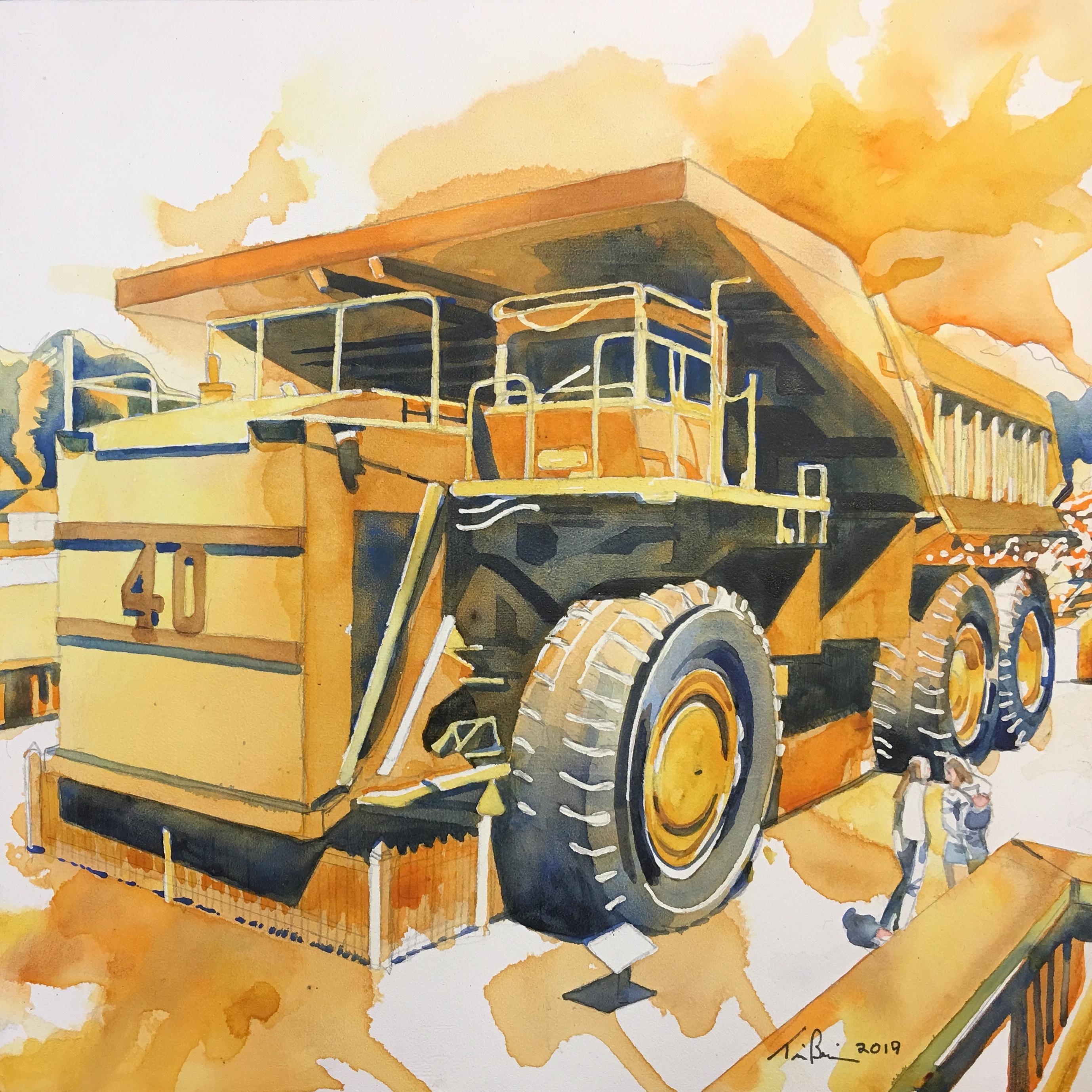 Dump Truck, Britannia Mine Museum
