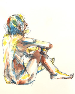 Old Man, Sitting